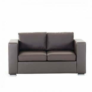 Enya Leather 2 Seater Loveseat