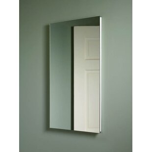 Seidman Glass Shelves 16 x 26 Recessed Medicine Cabinet by Latitude Run