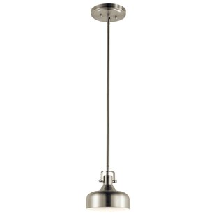 Brayden Studio Deandre 1-Light LED Dome Pendant