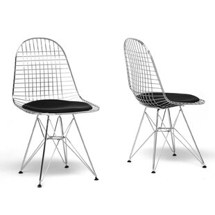 Section Wire Dining Chair (Set of 2) Ivy Bronx
