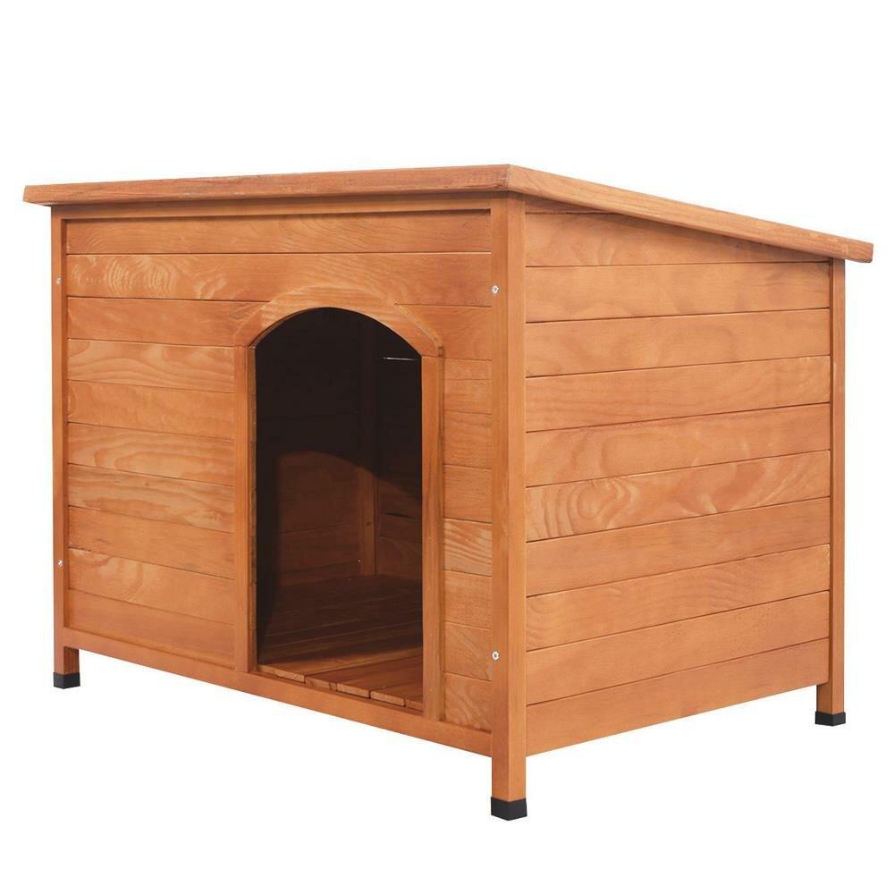 Tucker Murphy Pet Ramirez Outdoor Ground Wood Dog House Wayfair
