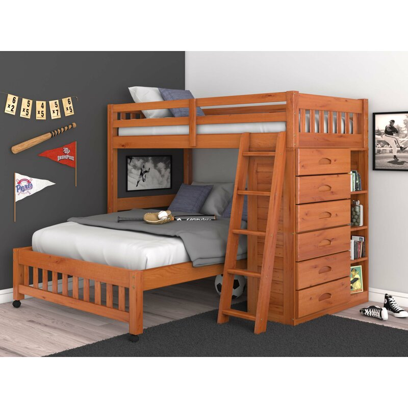 8401c19e0fe Viv + Rae Kroger Twin over Full Bunk Bed   Reviews