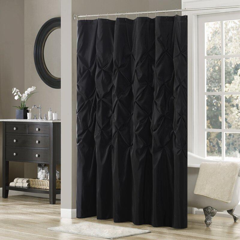 Willa Arlo Interiors Benjamin Solid Shower Curtain & Reviews | Wayfair