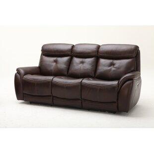Homerun Leather Reclining Sofa..