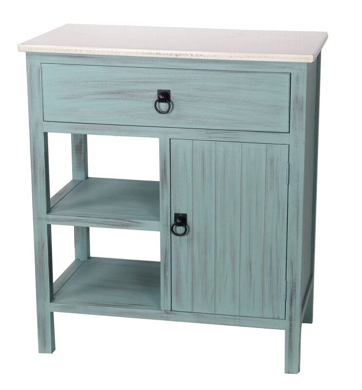 1 Drawer 1 Door Stand Accent Cabinet