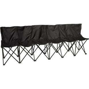 Sport Sideline Folding Camping Bench by Trademark Innovations