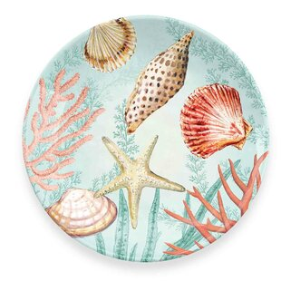Cantero Coral Reef Melamine Salad Plate (Set of 6)