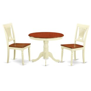 Caledonia 3 Piece Dining Set by Darby Home Co