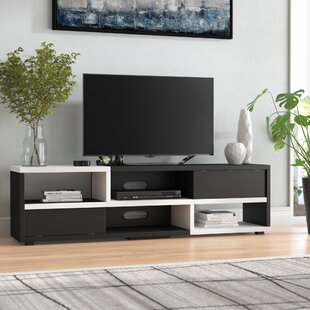 Best Reviews Bowers TV Stand for TVs up to 70 by Wade Logan Reviews (2019) & Buyer's Guide