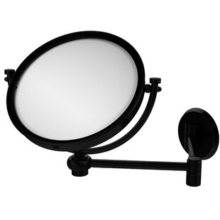 Allied Brass Extend 2X Magnification Wall Mirror with Twist Detail