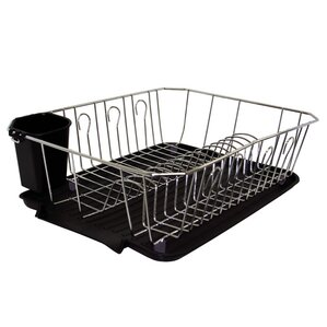 Captivating Kitchen Details 3 Piece Dish Rack Set
