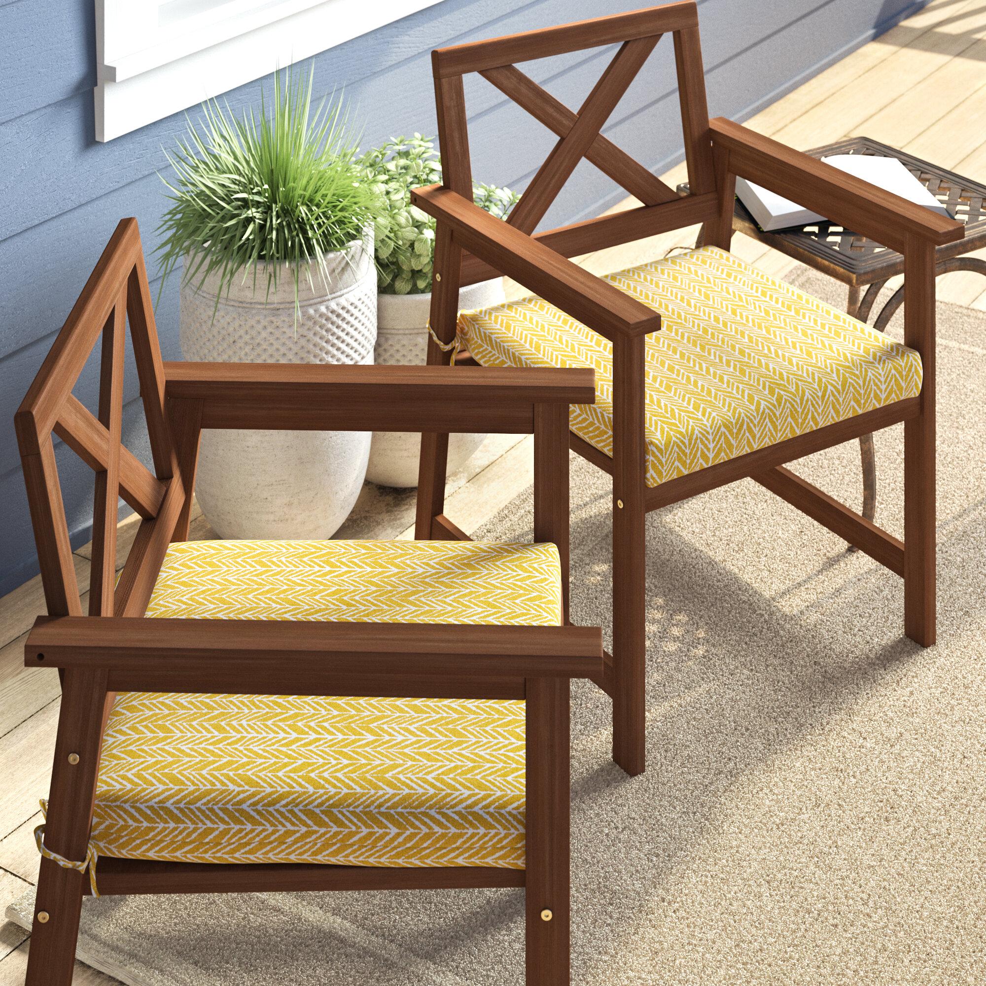 George Oliver Indoor Outdoor Barstool Cushion Reviews Wayfair