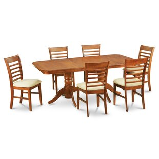 August Grove Pillsbury Modern 9 Piece Dining Set