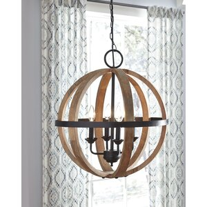 Caley 4-Light Mini Chandelier