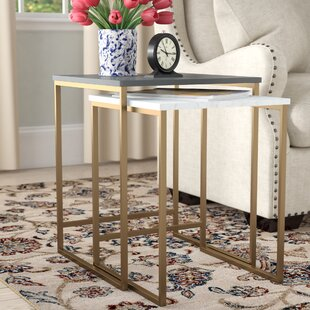 Scarlett 2 Piece Nest Of Tables By CosmoLiving By Cosmopolitan