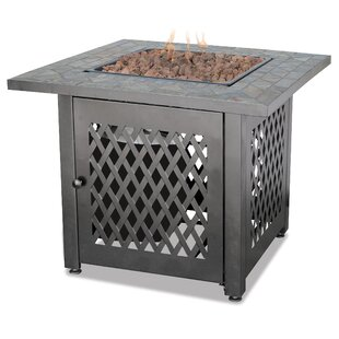 Blue Rhino Uniflame Slate LP Gas Outdoor Fire Pit Table