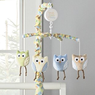 Inexpensive Kristian Owls Musical Mobile (Set of 10) ByHarriet Bee