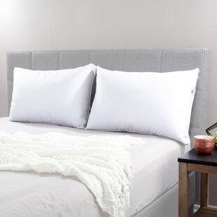 Adjustable Loft Medium Memory Foam And Polyester Pillow (Set Of 2) by Lavish Home Wonderful