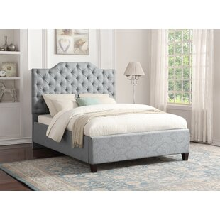 Jerrie Upholstered Panel Bed by Darby Home Co