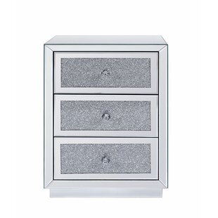 Best Reviews Erkson 3 Drawer Nightstand by Rosdorf Park