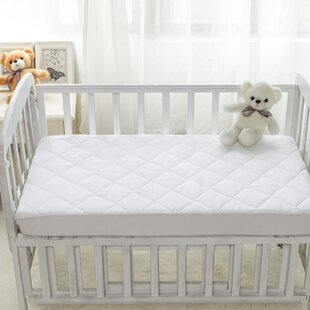 Waterproof 4-Ply Fitted Portable Crib Pad