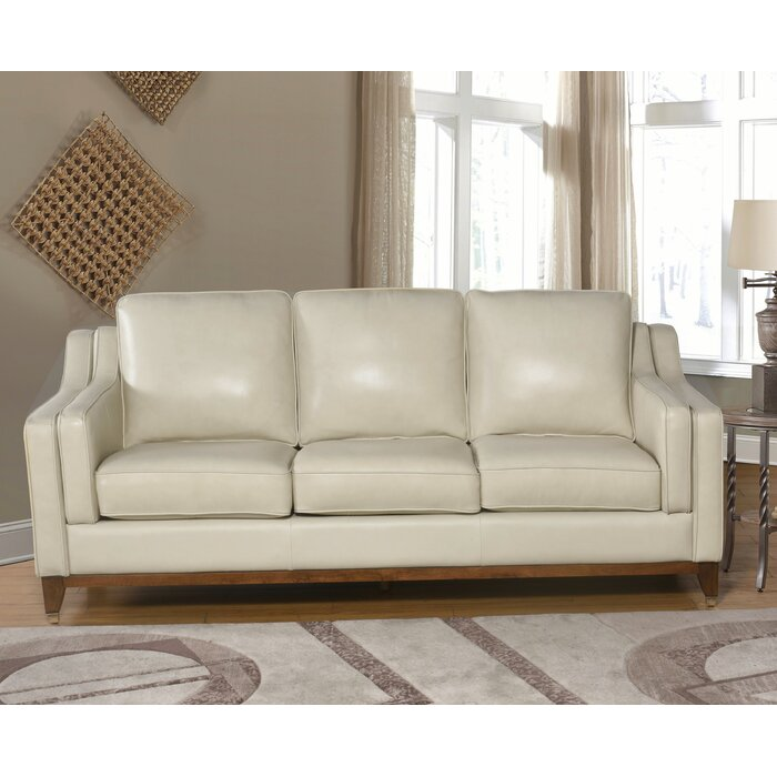 Jacob Top Grain Leather Sofa Pictures