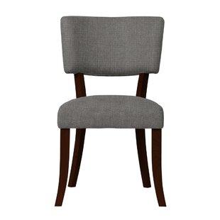 Larochelle Solid Back Side Chair (Set of 2) by Red Barrel Studio
