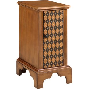 Manolla 1 Door Accent Cabinet by World Menagerie