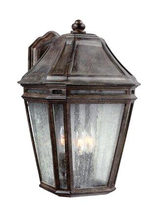 Maxine 3 - Bulb Outdoor Wall Lantern