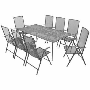 Lorelai 8 Seater Dining Set By Sol 72 Outdoor