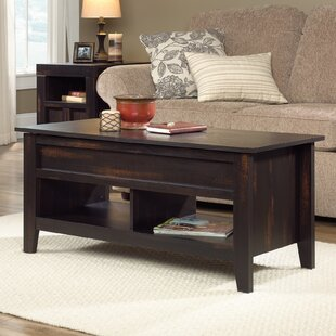Loon Peak Signal Mountain Lift Top Coffee Table