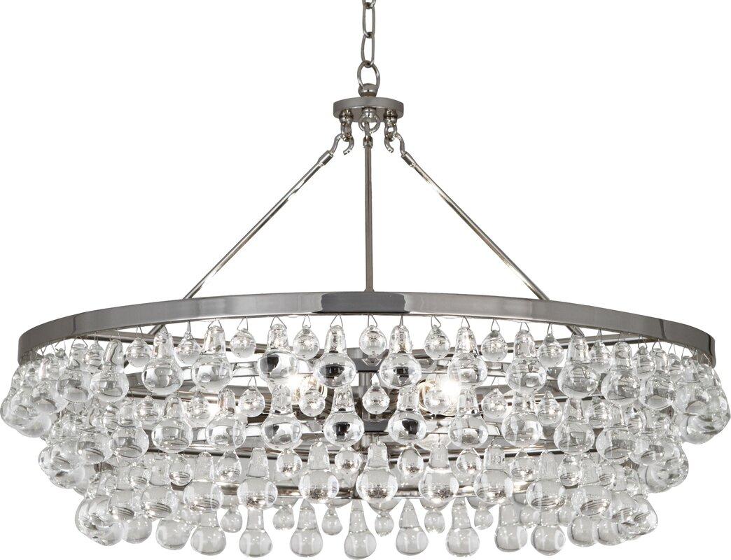 Bling 6-Light Crystal Chandelier