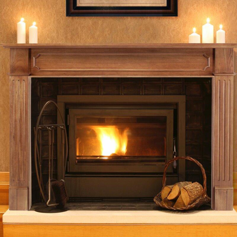 Pearl Mantels The Alamo Fireplace Mantel Surround Reviews Wayfair