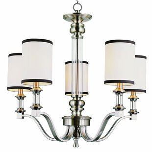 Breakwater Bay Stark 5-Light Shaded Chandelier