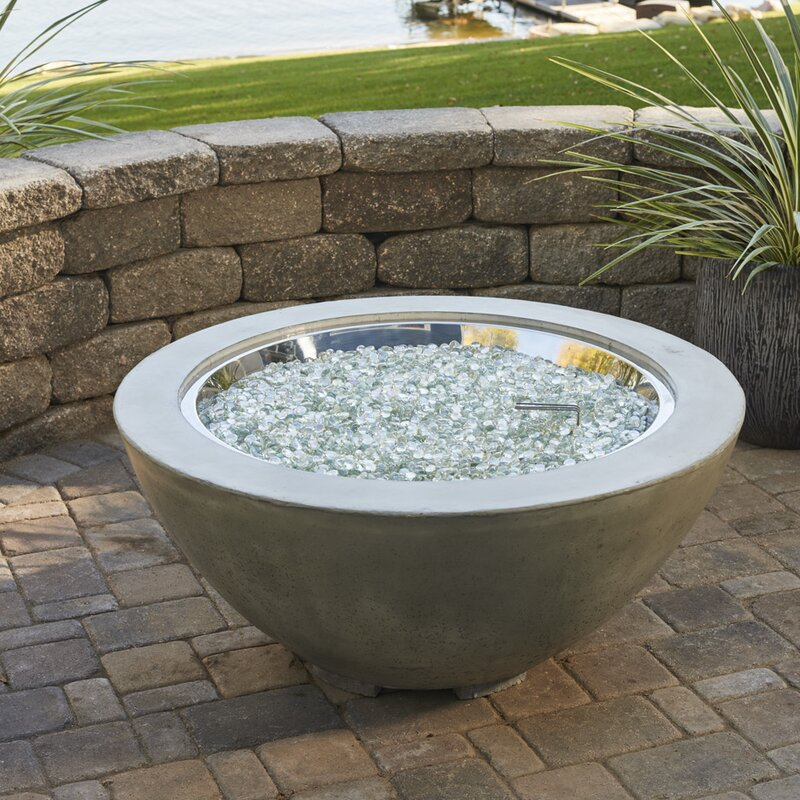 Nice Cove Propane Fire Pit Table