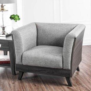 Brayden Studio Leary Barrel Chair