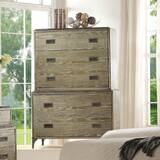 Appalachia Wood and Metal 5 Drawer Chest