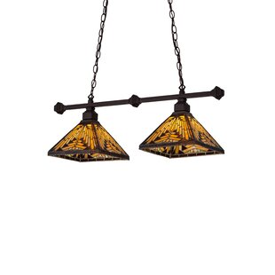 Millwood Pines Ethen 2-Light Pool Table Light Pendant