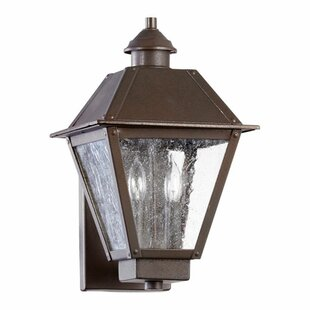 Read Reviews Mei 2-Light Outdoor Sconce By Alcott Hill