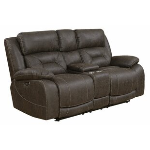 Darrow Reclining Loveseat Red Barrel Studio