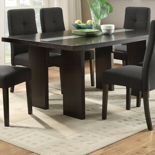 Iseminger Wooden Dining Table Winston Porter