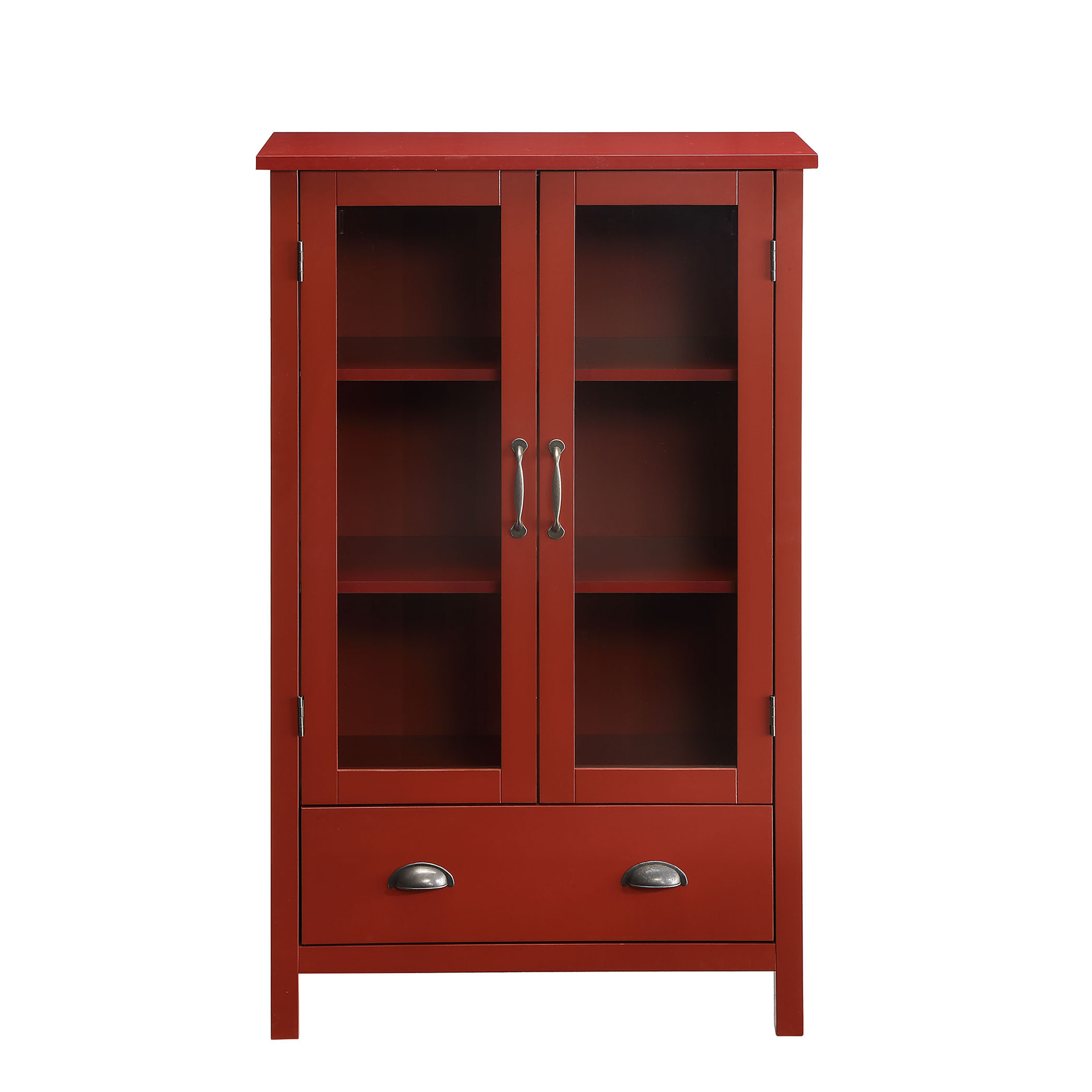 Red Cabinets Chests You Ll Love In 2021 Wayfair