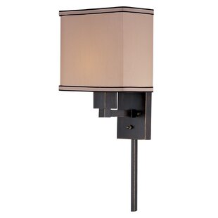 Compare Ballyclarc 1-Light Wall Sconce By Three Posts