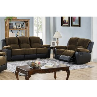 Estabrook 2 Piece Reclining Living Room S..