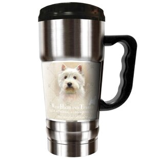 Howard Robinson's West Highland Terrier 20 oz. Stainless Steel Travel Tumbler