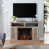 Manolla TV Stand for TVs up to 55 with Fireplace Included by Darby Home Co