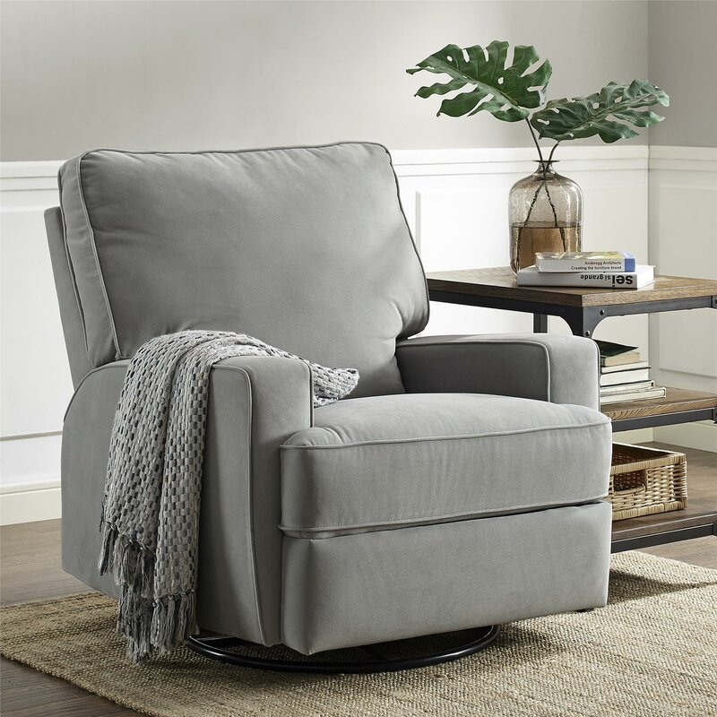 Superieur Aisley Swivel Reclining Glider