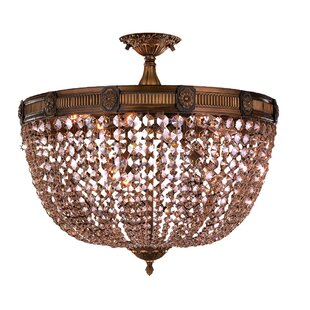 Reimer 9-Light Semi Flush Mount by Astoria Grand