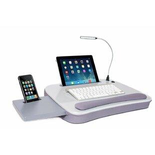 Hitchita Sofia Sam Multi Tasking Memory Foam 185 Lap Desk with USB Light by Ebern Designs