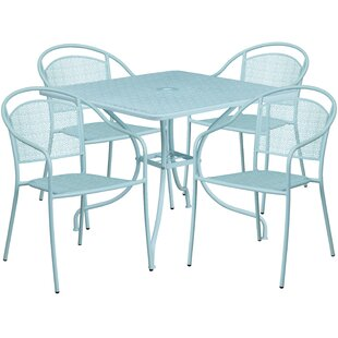 Delpha 5 Piece Dining Set by Zipcode Design